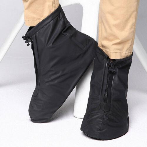 Unisex Reusable Rain Shoe Waterproof Covers Anti-slip Overshoes Short Boots