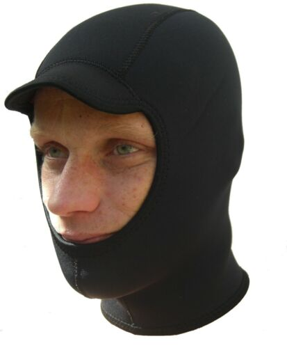 warm comfortable Quality 3mm titanium neoprene wetsuit Surf hood balaclava cap