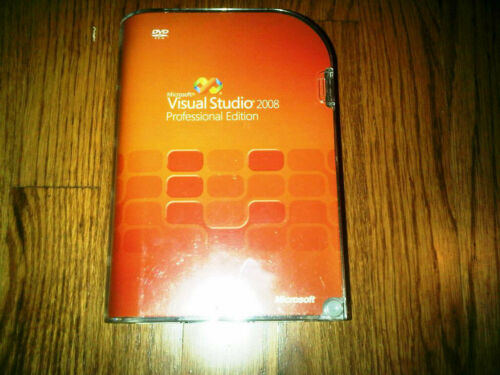 Microsoft Visual Studio 2008 Professional, SKU C5E-00245, Sealed Retail Box,Full