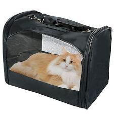 Plegable Portátil Pequeño Mascota Perro Gato Portador de Lona de viaje Bolsa De Tela Malla Cajón