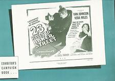 23 Paces to Baker Street 1956 press book  Van Johnson, Vera Miles, Cecil Parker