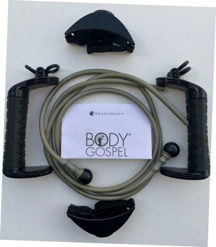 Beachbody 6 PCS Body Gospel Fitness Bands ~ Pro-Grade Resistance Band Set  NEW