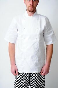 Chef Jackets White and Black Half Sleeve Full Sleeve Chef Coats chef uniform
