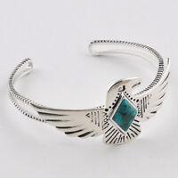Barse Jewelry Silver Overlay Turquoise Phoenix Cuff Bracelet