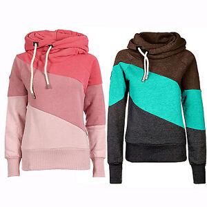 hot damen kapuzenpulli lang rmeliges sweatshirt pullover. Black Bedroom Furniture Sets. Home Design Ideas