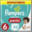Pampers-Baby-Dry-nappy-Pants-Windeln-Monatsbox-Groesse-Gr-4-5-6 Indexbild 2