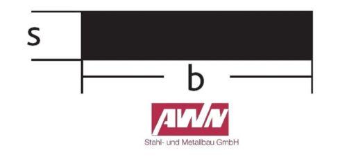 Flachstahl 12mm Feuerverzinkt Breitflach Flacheisen Bandstahl Blech Stahlplatten
