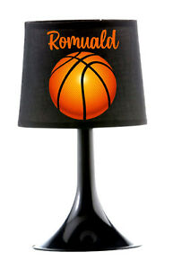 Détails sur Lampe de chevet Basketball personnalisée avec prénom