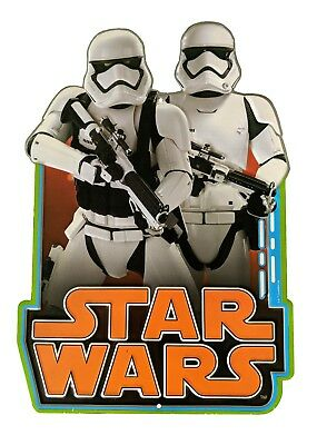 Star Wars Stormtrooper Patrol Empariel Forces Metal Tin Sign