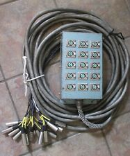 Switchcraft Audio Snake Cable With 15 Channel Stage Box