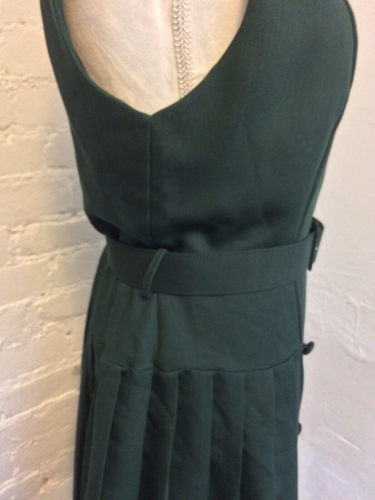 Laura Ashley Vintage 90s Sleeveless Sheath Dress … - image 4