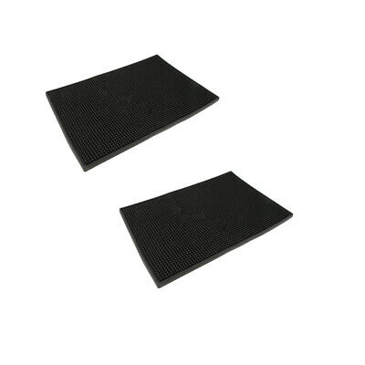 """Rubber Bar Runner Service Spill Mat for Pub Club Cocktail Beer Party 18x12/"""""""