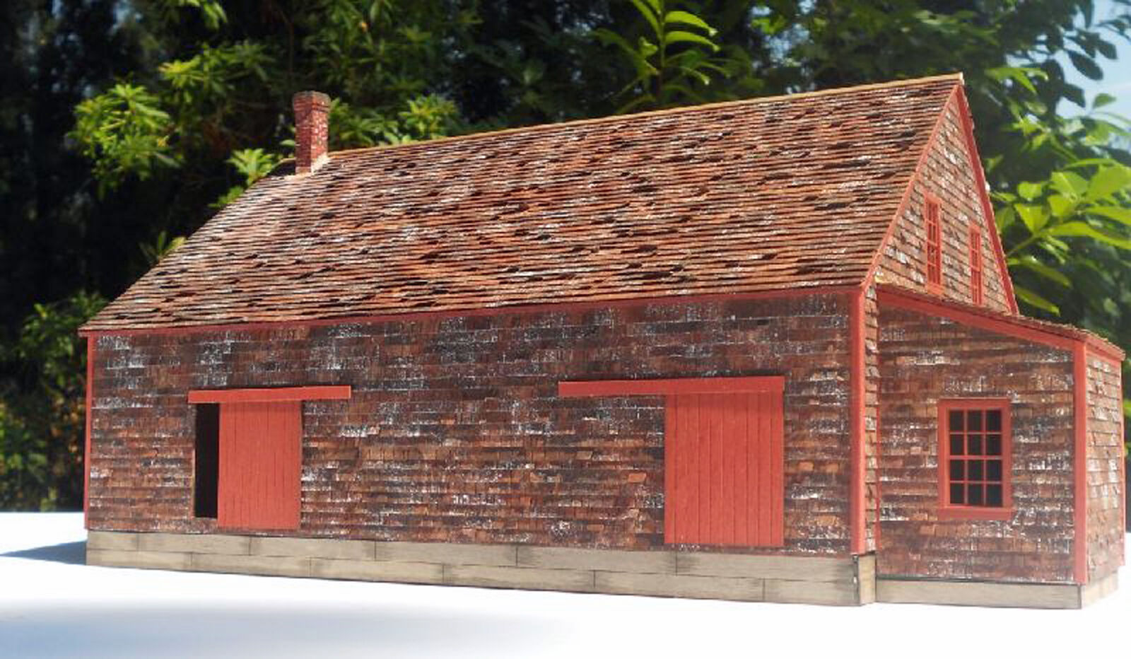 POTATO HOUSE O On3 On30 Model Railroad Structure Wood Unpainted Laser Kit RSL102
