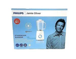 Details zu Philips HR 2172/00 Jamie Oliver Standmixer weiß/blau(