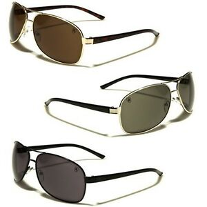 22062a254 Khan Classic Retro 80s Mens Round Small Aviator Sunglasses Vintage ...