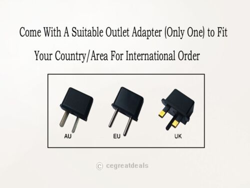 12V 2A AC Adapter For Aluratek Digital Picture Frame Charger Power Supply Cord