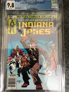 Indiana-Jones-1-CGC-9-8-White-Pages-1983-Newsstand-Variant-VHTF