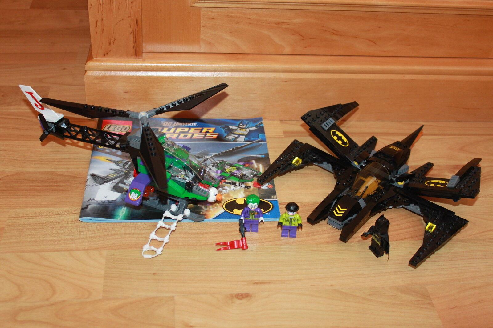 Lego Batman - Batman Set Batwing Kampf über Gotham City mit Anleitung Set 6863