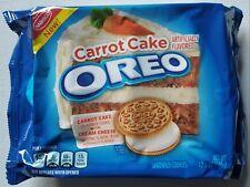 NEW Nabisco Oreo Carrot Cake Flavored Cookies FREE WORLDWIDE SHIPPING