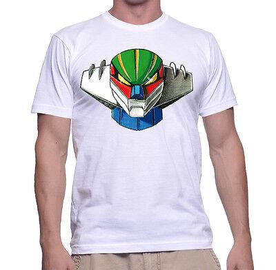 Obbediente Maglietta Jeeg Robot D'acciaio