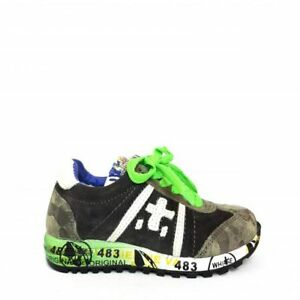 Premiata-Lucy-sneaker-junior-mimetico-grigio-e-nero-14PJ-IN-SALDO-CONSIGLIATA