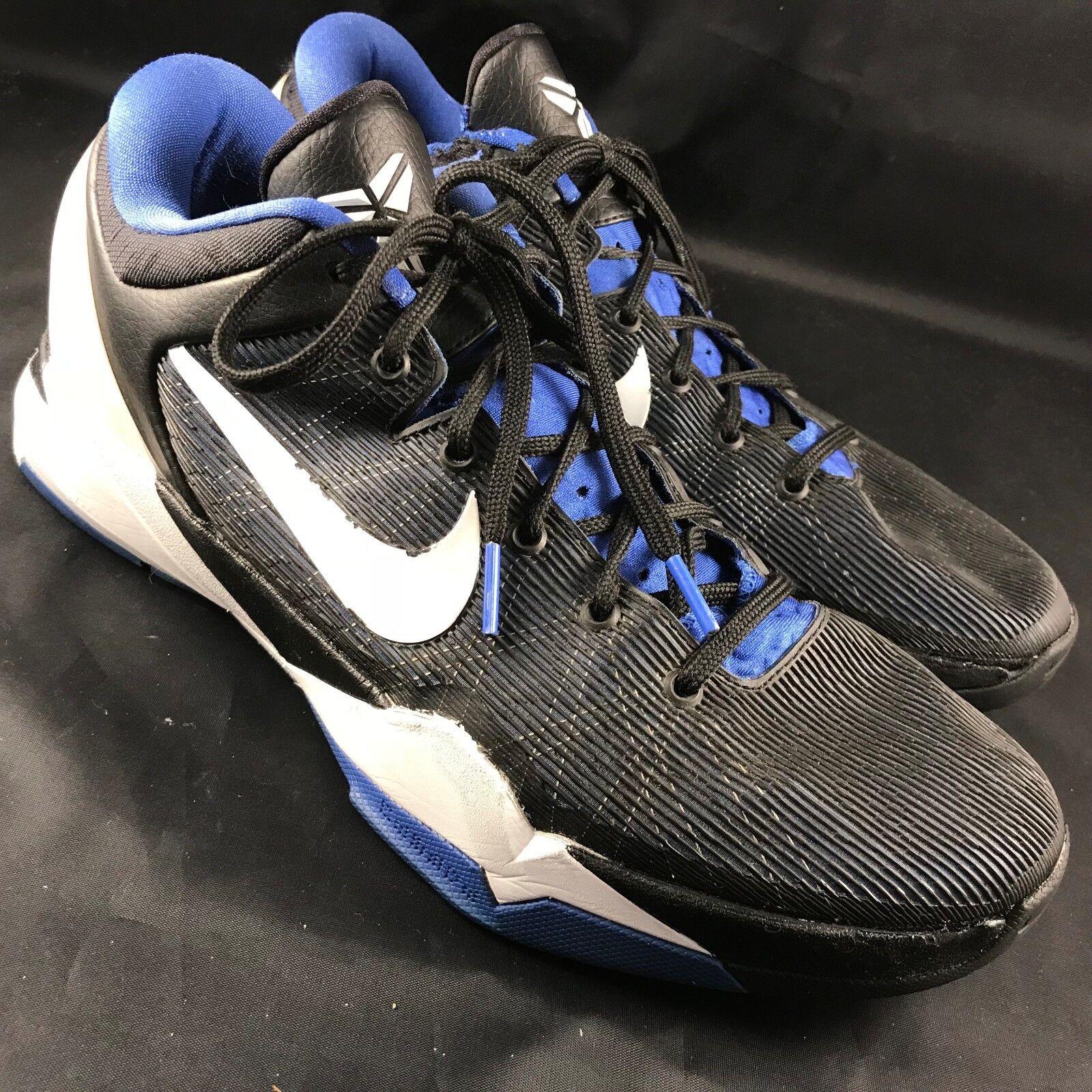 RARE� Nike Zoom Kobe 7 VII Treasure Blue Black Dukes Sz 11.5 45.5 488371-400