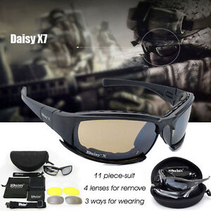 22fa98fade Image is loading Polarized-Daisy-X7-Motorcycle-Riding-Sunglasses-Military -Tactical-