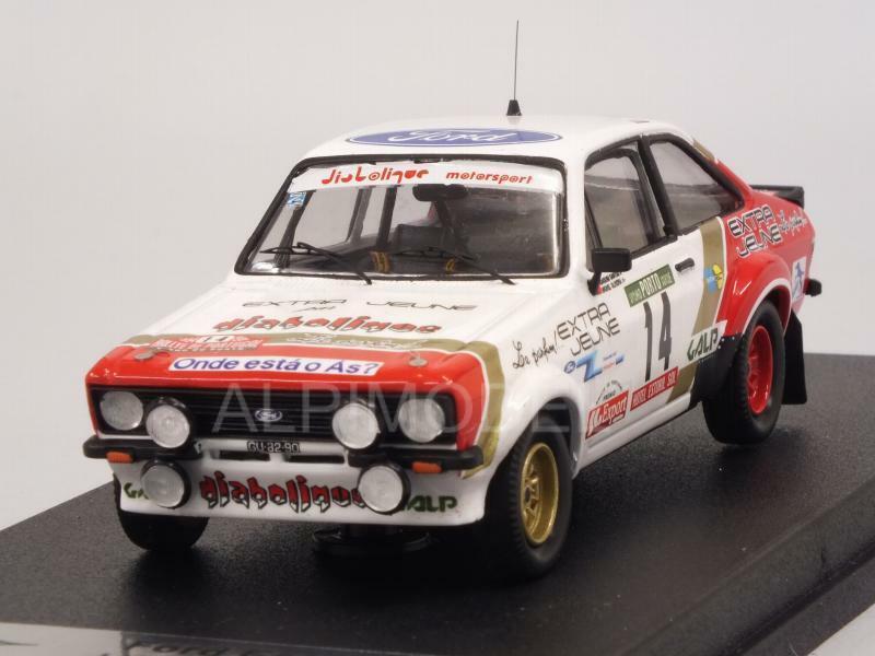 Ford Escort Mk2 RS1800 Rally Portugal 1984 Santos - Olive 1 43 TROFEU RRAL74