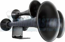 HornBlasters Outlaw Black Smooth Finished Loud Train Horn