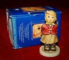 "HUMMEL  ""CLEAR AS A BELL"" #2181 TMK8  MIB Adorable Figurine!"