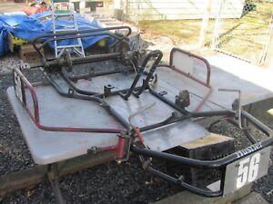 Details about Vintage Racing Go Kart Bug Wasp Side Winder Frame for  Restoration