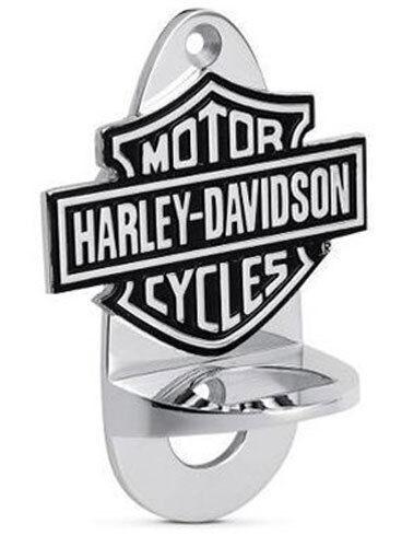Cooperativa Apribottiglie Harley Davidson Da Muro Parete Idea Regalo Bar&shield Stemma Logo