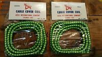 Cable Wrap Throttle Brake Clutch Cable Coil Harley Shovelhead Ironhead 70's