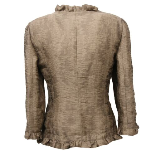 Donna verde Armani Jacket Collezioni Giacca C4322 Beige Woman 6X5xq1Of