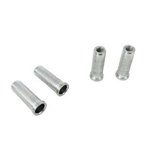 12 x flecha de aluminio 6.2 mm insertos base para  arco de flecha Fw