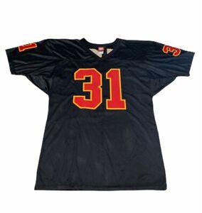 Kansas City Chiefs NFL Priest Holmes 31 Wilson Mens Jersey Sewn ...