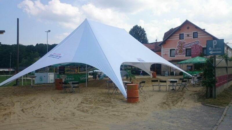 Wedding Event Beach Yard Lawn Pool Patio Party Double Star Stretch Tent