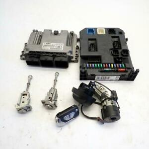 Citroen DS3 Ecu Bsi Key Locks 0281015847 9666952280 1.6 hdi|Ref.1140