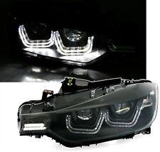 2 FEUX PHARE AVANT LED TFL AVEC FEUX DE JOUR BMW SERIE 3 F30 > 10/2011