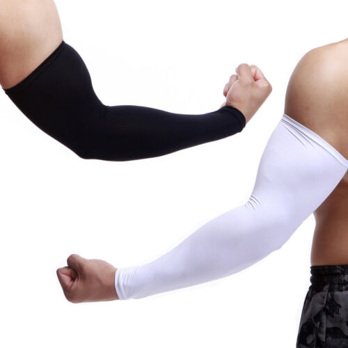 1PC Sun Protection Arm Cooling Sleeve Warmers Cuffs UV Cycling Daliy Men Women W