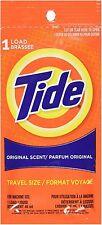 Tide Travel Size Detergent, Original Scent 1.80 oz (Pack of 5)