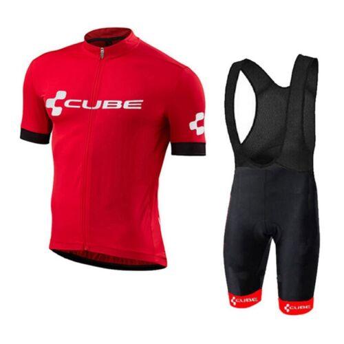 Men/'s Cycling Sets Bike Jersey Summer Mountain Bike Shirts Padded Shorts