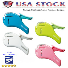 Kokuyo Stapleless Stapler Harinacs Compact Alpha Multicolor New Fr Sh