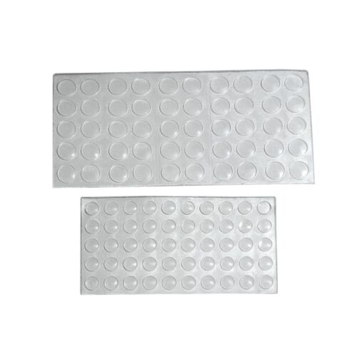 Türpuffer Elastikpuffer Schrankpuffer selbstklebend 50Stk DS02-10