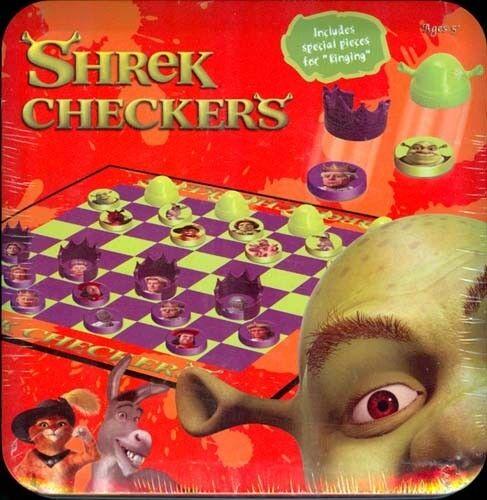 garantizado Juego Juego Juego de tarjetas de juego de estaño Shrek Damas Fábrica Sellado Nuevo difícil de encontrar  Sellado   preferente