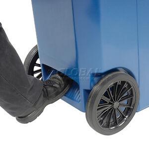 Heavy Duty Replacement Wheel 65 95 Gallon Rolling Trash