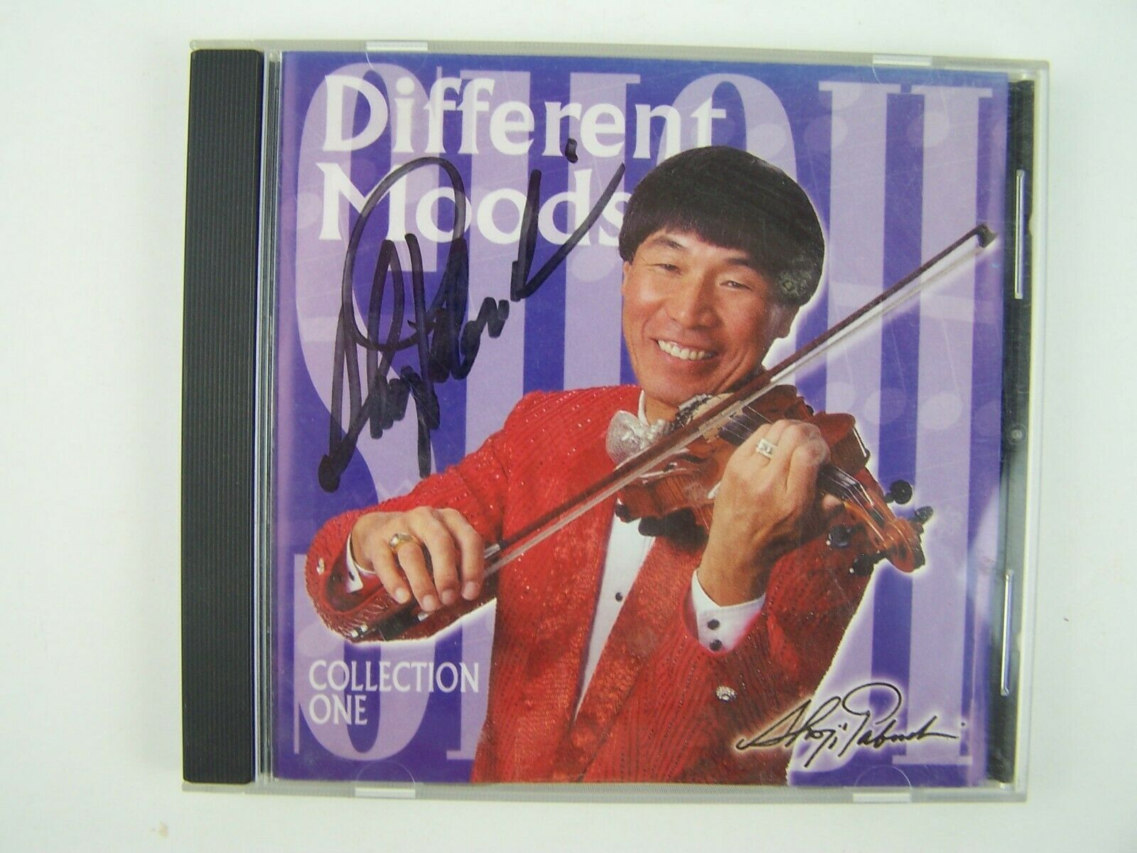 Shoji - Different Moods - Collection One CD SIGNED/Auto