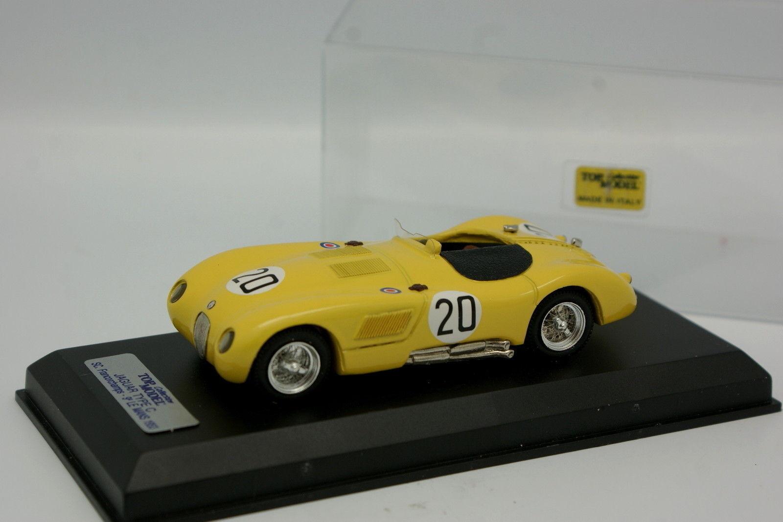 Top Model 1 43 - Jaguar Type Type Type C N°20 Le Mans 1953 d4d9a1