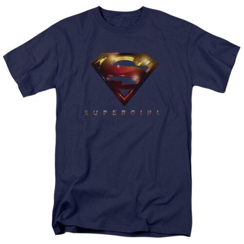 Supergirl TV Show LOGO GLARE Licensed Adult T-Shirt All Sizes