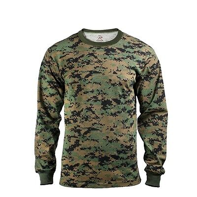 Us Woodland Digital Army Usmc Long Sleeve Langarm Shirt Hemd 3xl Xxxlarge